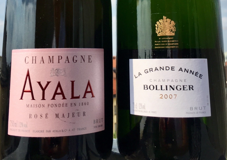Champagner Tasting Bollinger & Ayalla