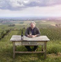 Bernhard Ott in seinen Weingärten